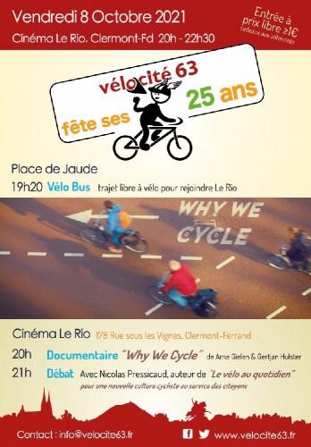 Anniversaire - Vélo-Cité 63 fête ses 25 ans