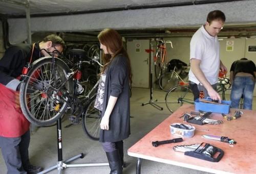 Atelier d'auto-réparation Vélo-Boulot-Dodo à Clermont-Fd