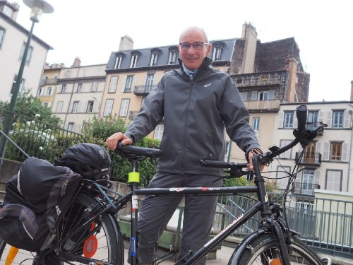 Serge Fabbro, président de VéloCité63