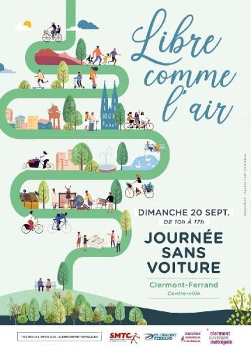 Journée sans voiture à Clermont - 20 sept 2020