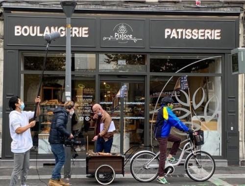 Le vélo comme moyen de livraison