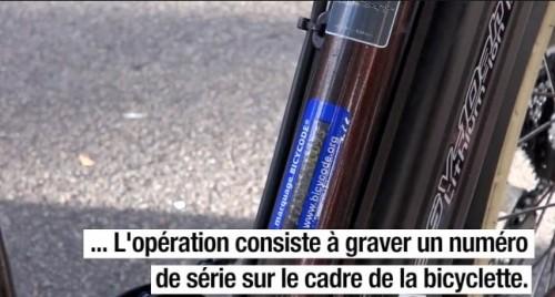 marquage par VéloCité63