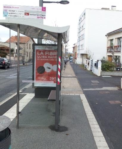 Rue A.France Piste cyclable (réalisation 2013)